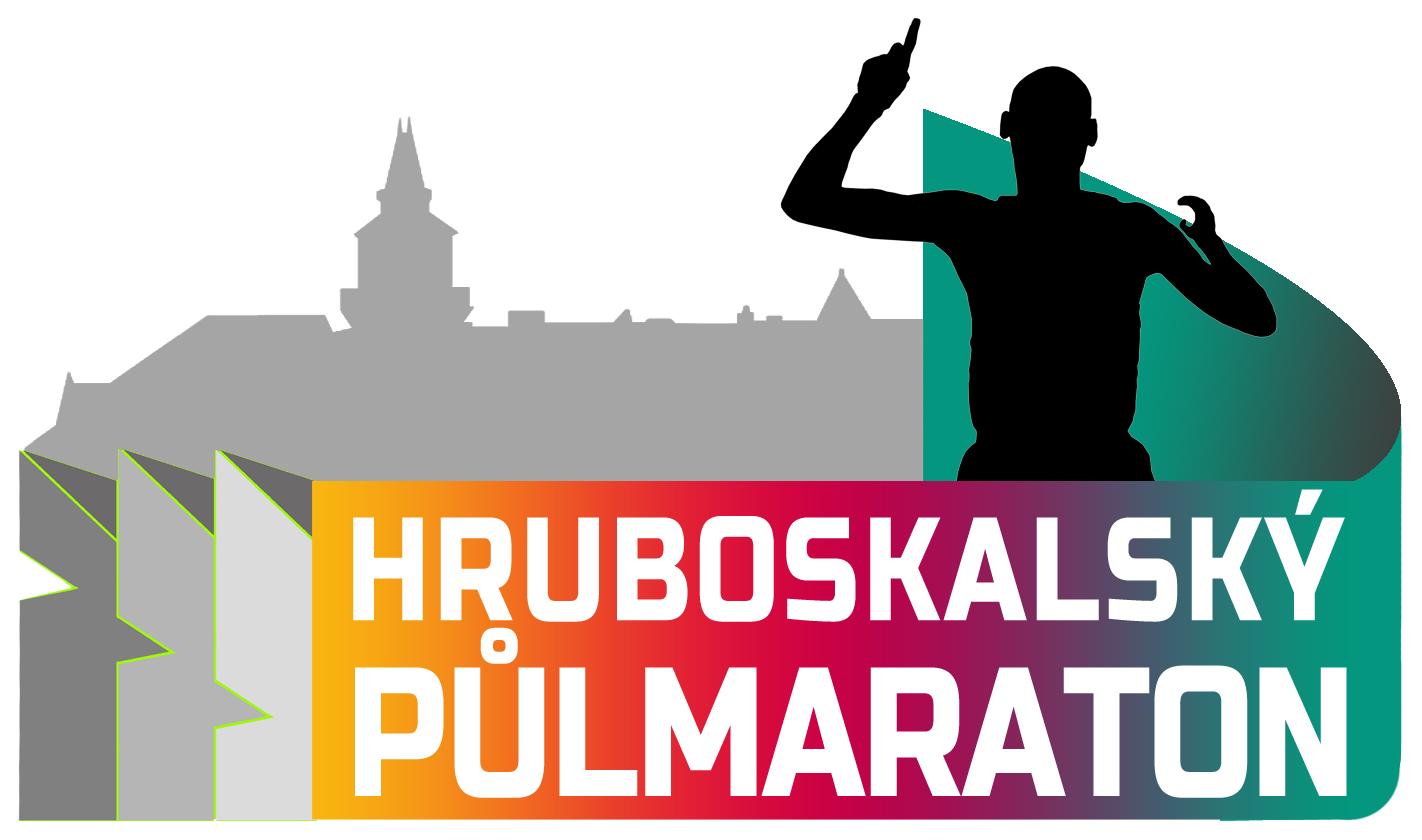 Hruboskalský půlmaraton logo